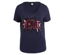 T-Shirt LOVE POP - marine