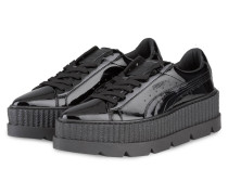 Plateau-Sneaker POINTY CREEPER - schwarz