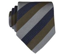 Krawatte - blau/ grau/ grün