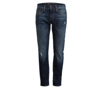 Destroyed-Jeans BLEECKER BILLY BLUE Slim-Fit
