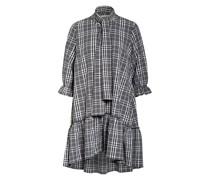 Kleid TUNDRA mit 3/4-Arm und Rüschenbesatz