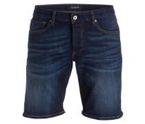 Jeans-Shorts - beaten back blue