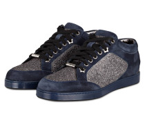 Sneaker MIAMI - navy/ silber metallic