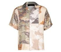Resorthemd Comfort Fit aus Seide