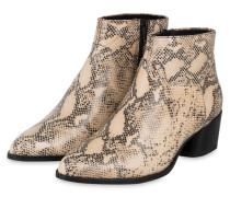 Cowboy Boots - CREME/ SCHWARZ