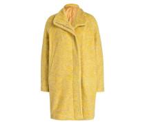 Mantel HOFFMANN - gelb meliert