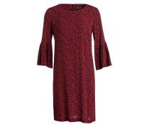 Kleid - rot/ schwarz/ pink