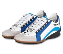 Sneaker - blau/ weiss/ grau