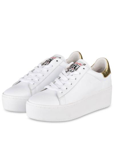1e33b467f4008e Weiss Damen Plateau-sneaker Gold Ash Cult - inkleem.com