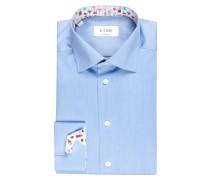 Hemd Contemporary-Fit - hellblau meliert
