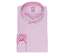 Hemd TREVISO Custom-Fit - rosa