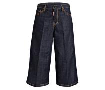 Jeans-Culotte - blau