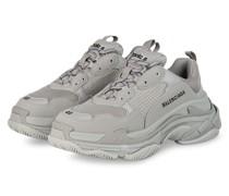 Plateau-Sneaker TRIPLE S - GRAU