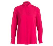 Bluse mit Seidenanteil - pink