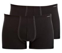 2er-Pack Boxershorts ESSENTIALS - schwarz