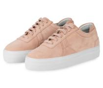Plateau-Sneaker PLATFORM - NUDE