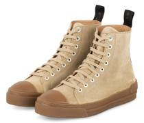 Hightop-Sneaker COURT SUEDE - CAMEL