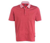 Jersey-Poloshirt Regular-Fit - rot