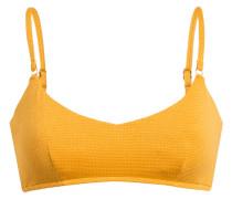 Bustier-Bikini-Top STARDUST mit Glitzergarn