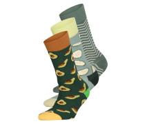 3er-Pack Socken HEALTHY GREENS
