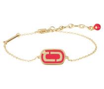 Armband - gold/ fuchsia