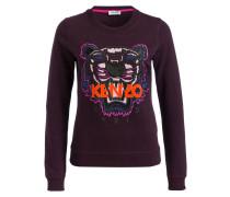 Sweatshirt TIGER CLASSIC - weinrot