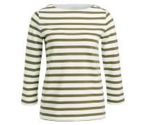 Shirt LOUNA - weiss/ khaki/ neongelb