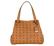 Shopper SIGNATURE VISETOS MEDIUM - cognac