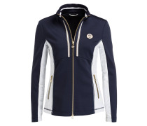 Softshell-Jacke TUNIS - navy/ weiss