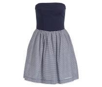 Bandeau-Kleid - blau