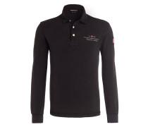Piqué-Poloshirt ELBAS - schwarz