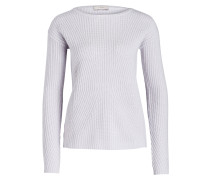 Cashmere-Pullover - hellgrau