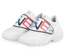 Plateau-Sneaker JENNY - WEISS