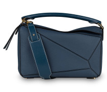 Handtasche PUZZLE MEDIUM - blau
