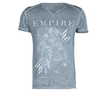 T-Shirt EMPIRE - grau