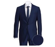 Anzug HUGE6/GENIUS4 Slim-Fit - dunkelblau