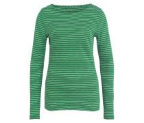 Longsleeve - grün/ weiss gestreift