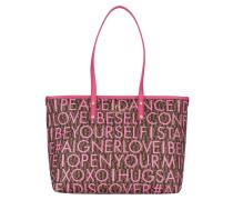 Shopper ZOE - pink/ beige