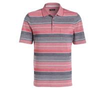 Piqué-Poloshirt Regular-Fit - rot