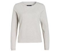 Sweatshirt - creme meliert