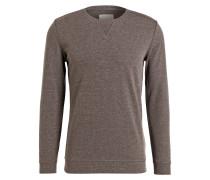 Sweatshirt BOYTON - taupe meliert