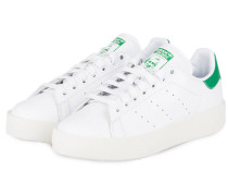 Sneaker STAN SMITH BOLD - weiss