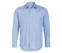 Hemd Regular-Fit - hellblau/ blau