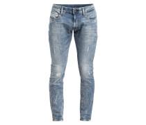 Destroyed-Jeans 3301 Super Slim-Fit
