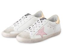 Sneaker SUPERSTAR - weiss/ rosa/ gold