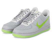 Sneaker AIR FORCE 1 ´07 - GRAU/ NEONGRÜN