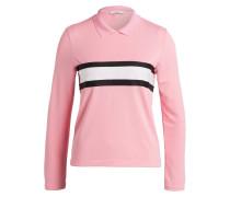 Poloshirt DUBOIS - rosa/ schwarz/ weiss