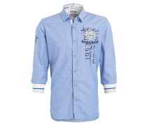 Hemd Regular-Fit - blau