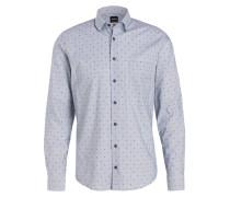 Hemd EPOP Slim-Fit - blaugrau/ navy