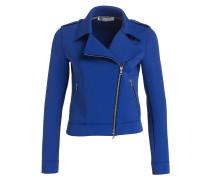 Jacke im Biker-Stil - royalblau